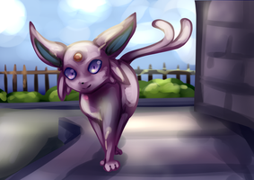 espeon [request] by CynicalAshhole