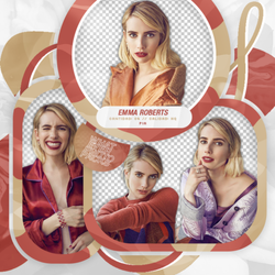 +Pack Png: Emma Roberts. by WhateverPhotopackss