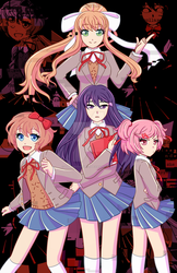Doki Doki Literature Club by TheCrayonQueen
