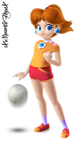 Sporty Daisy by XxSparksFlyxX