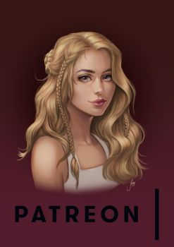Patreon Drawing: Sara by JuneJenssen