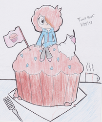 Moof on a Muffin by FunnystufBurrito