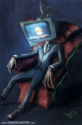 TV Head by uncle-shaun