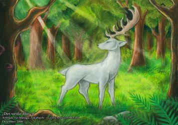 The White Stag by Merinid-DE