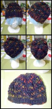 [Crochet] Commissioned Hat for a friend by SweetLittleVampire