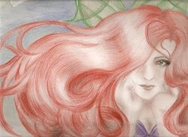 Ariel the Mermaid Princess by Ebsie