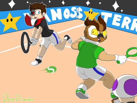 Vanoss Tennis Aces ft. Terroriser by Demonic-Disaster