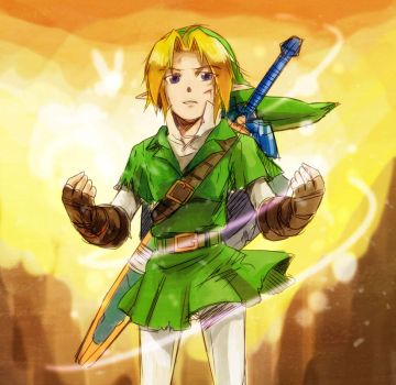 OoT Link by rdanys