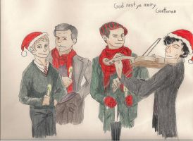 God Rest Ye Merry, Gentlemen by GoodOldBaz