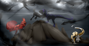 .:Land of Shadows:. by UnravelDragfox