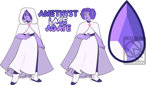 PayPal Adopt- Amethyst Lace Agate (CLOSED) by XombieJunky