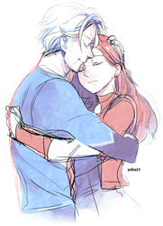 maximoff twins by yahuxx28