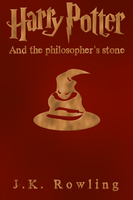Cover for Harry Potter and the philosopher's stone by RandomVanGloboii