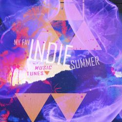 CD Cover: My fav indie summer music tunes by mercurycode