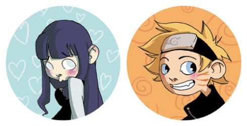 Naruto's badges by Leamlu