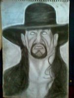 2013 drawing - The Undertaker by nielopena