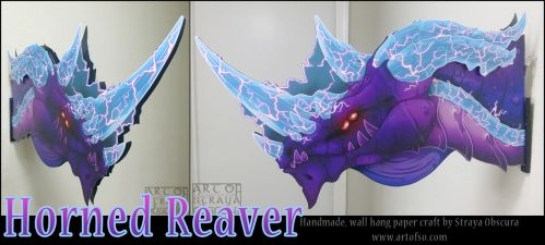 Horned Reaver by StrayaObscura