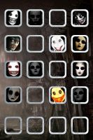Jeff the Killer N' Masky Wallpaper by TheScarecrowOfNorway