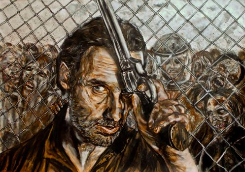 the walking dead Rick Grimes by FDupain