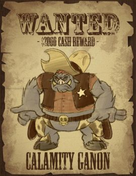 Calamity Ganon by spacepig22