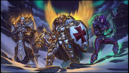 The Templar Knights by draken4o
