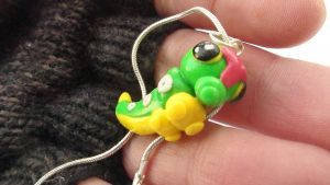 Caterpie Necklace