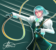 Ace Attorney - Franziska von Karma by MereldenWinter
