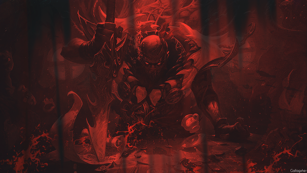 (Red) Pyke Wallpaper by Gallagxher