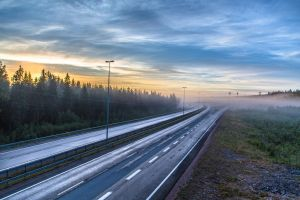 Highway in the morning by BIREL