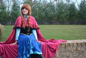 princess anna-frozen by Iris-Iridescence