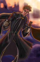 Tres Iqus - Gunslinger by Fairytwister