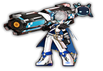 [Elsword] Iron Paladin costume by Elphin-Zephyr