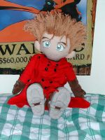 Plushie Vash the Stampede 2 by Zanne