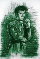 The 10th Doctor by T-Nelly