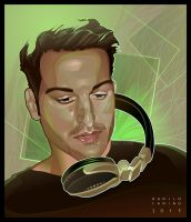 - Antonio - digital vector portrait by neptune82