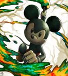 This artwork was painted by Mickey by Ry-Spirit
