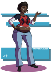 Robin AKA Milly Millicent the Reference by munemune