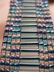 Blue Ladder Bracelet by AntarcticDreamer