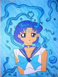 Super Sailor Mercury by DavisJes