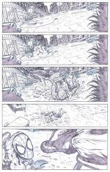 Amazing Spider-man 606 Try-out samples p09 by David-Daza