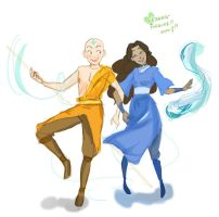 kataang forever!! by psycheJ93