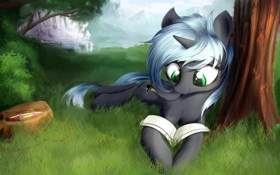 Quantum Flash: Mid-day Reading Session by AureliaFreefeather