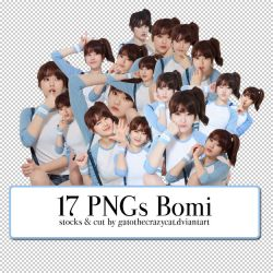 PNG Pack #8: Bomi (Ulzzang) by gatothecrazycat