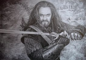Thorin Oakenshield by Angua33