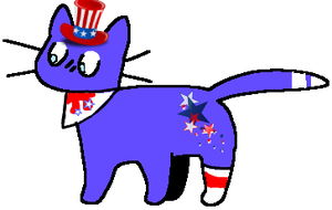 closed : fourth of july! adopt by Violeta-Adopts