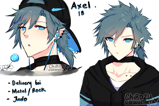 Axel - Delivery boi by ChiRozu