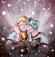 Hetalia: Winner [FIFA 2014] by wasipol