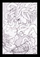 BA ENTRY: Medusa by TheInkPages