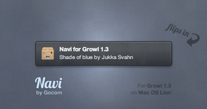 Navi for Growl by Gocom