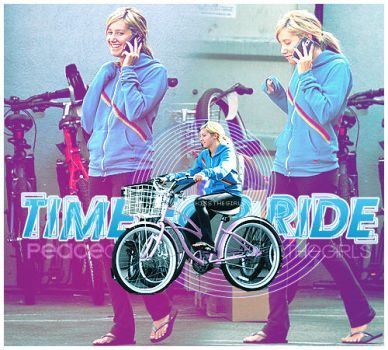 Time for ride - ashley tisdale by peacecreations